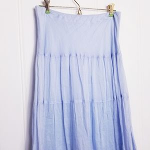 Banana Republic Skirts - Banana Republic Flowy Boho Tiered Maxi Skirt